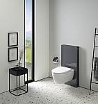 Geberit iCon toilet på monolith_lava