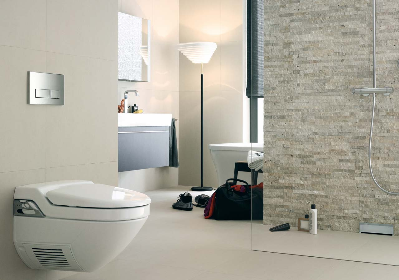 udstillings badeværelse Geberit til VVS & badeværelse   find det hos Leon Petersen A/S udstillings badeværelse