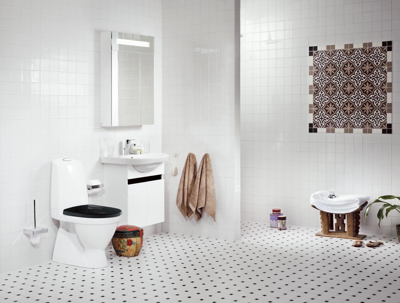Stort udvalg af gustavsberg badeværelsesprodukter!